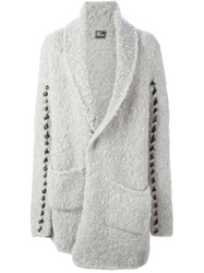 Lost And Found Long Cardigan Grey