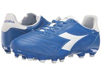 Diadora Brasil K Plus Mg 14 Royal White Matchwin Men's Soccer Shoes Blue