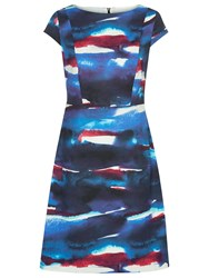 Fenn Wright Manson Picasso Dress Blue Multi