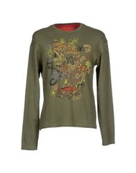 Parasuco Cult T Shirts Military Green