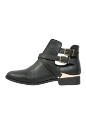 Lipsy Rebecca Ankle Boots Black