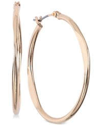 Jones New York Medium Flat Hoop Earrings