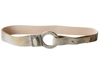 Leather Rock 1302 Silver Gold Women's Belts