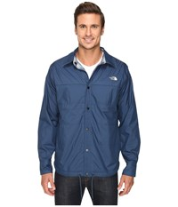 The North Face Fort Point Flannel Jacket Shady Blue Men's Jacket