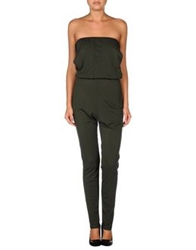 Jo No Fui Pant Overalls Military Green