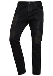Scotch And Soda Straight Leg Jeans Black