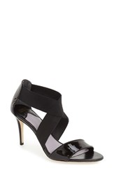 Johnston And Murphy Women's 'Felicity' Strappy Sandal Black Patent Leather