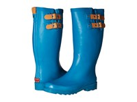 Chooka Top Solid Rain Boot Dark Teal Women's Rain Boots Blue