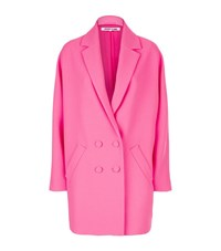 Mcq By Alexander Mcqueen Double Breasted Kimono Coat Female Pink