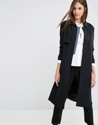 Sisley Tailored Mac Coat Black