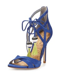Sam Edelman Azela Strappy Tassel Sandal Sailor Blue Women's