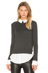 Central Park West X Revolve The Nantucket Sweater Charcoal