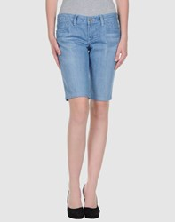 William Rast Denim Denim Bermudas Women