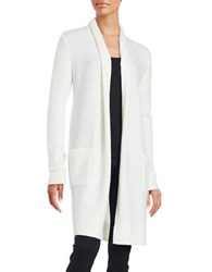 Michael Michael Kors Long Easy Cardigan Cream