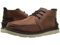 Toms Chukka Boot Waterproof Brown Leather Men's Lace Up Boots