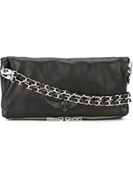Zadig And Voltaire 'Rock' Clutch Black
