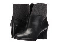 Nine West Dale Black Pewter Leather Women's Boots