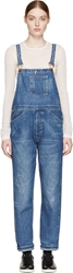 Levi's Blue Bib And Brace Youth Wear Long Overalls