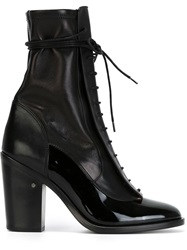 Laurence Dacade Laced Boots Black