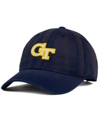 Top Of The World Georgia Tech Yellow Jackets Vintnew Cap Navy