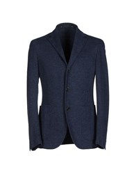 Couture Du Cuir Suits And Jackets Blazers Men Blue