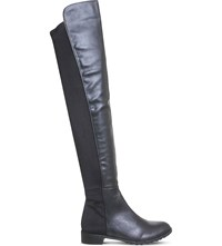 Office Kiwi Over The Knee Boots Black