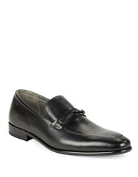Hugo Boss Leather Loafers Black