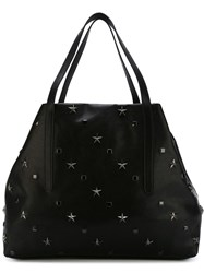 Jimmy Choo Studded Tote Black