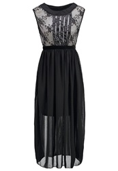Molly Bracken Cocktail Dress Party Dress Noir Ecru Black