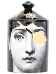 Fornasetti Scented Candle Black