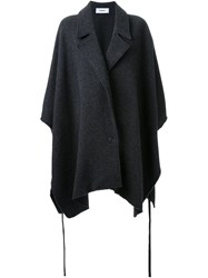 Chalayan Oversized Cape Grey