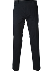 Fendi Cropped Trousers Blue