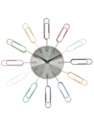 Paper Clip It Clock Only 32.70 Unique Gifts And Home Decor Karma Kiss