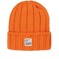 Mt. Rainier Design Knit Beanie Orange