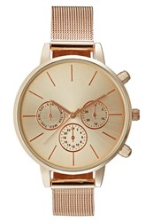 New Look Lucy Open Watch Pink