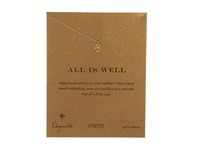 Dogeared All Is Well Hamsa Reminder Necklace Gold Necklace