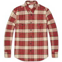 Filson Vintage Work Shirt Red