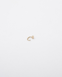 Saskia Diez Mini Paillettes Stud No. 2 Rose