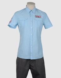 Fred Mello Short Sleeve Shirts Sky Blue