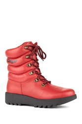 Cougar Original Lace Up Low Shaft Boot Red