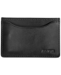 Jack Spade Mitchell Leather Credit Card Holder Nvy Choco