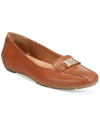 Giani Bernini Jileese Memory Foam Flats Only At Macy's Women's Shoes Light Fawn
