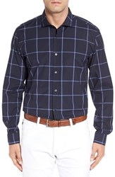 Boss Men's 'Ridley' Slim Fit Check Sport Shirt