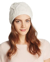 Bettina Slouchy Knit Beanie Ivory