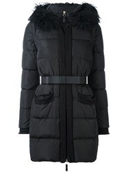 Twin Set Padded Parka Black