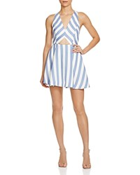 Lovers Friends Lovers And Friends Stripe Cutout Dress Nautical Stripe