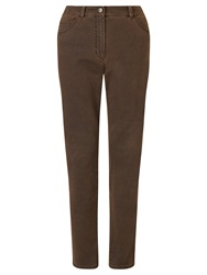 Gerry Weber Slim Leg Jeans Nut