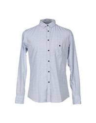 Master Coat Shirts Blue