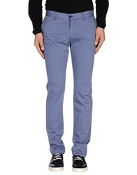 Alviero Martini 1A Classe Trousers Casual Trousers Men Pastel Blue