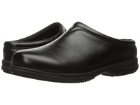 Nunn Bush Solis Slip Resistant Plain Toe Clog Black Men's Clog Shoes
